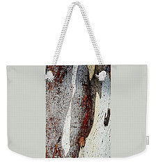 Blue Gum Bark Abstract 2 Weekender Tote Bag