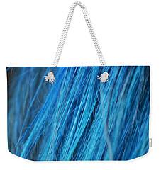Blue Hair Weekender Tote Bag