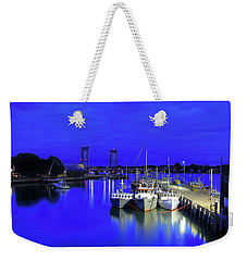 Blue Harbor-portsmouth Weekender Tote Bag
