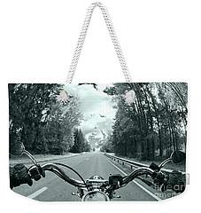 Blue Harley Weekender Tote Bag by Micah May