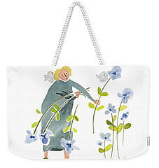 Blue Harvest Weekender Tote Bag