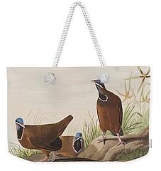 Blue Headed Pigeon Weekender Tote Bag by John James Audubon