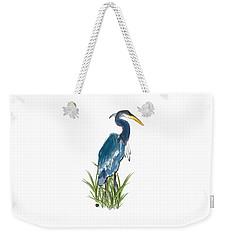 Blue Heron Weekender Tote Bag