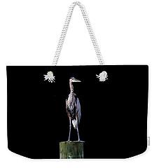 Blue Heron Prestige Weekender Tote Bag
