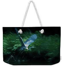 Blue Heron Take Off Weekender Tote Bag