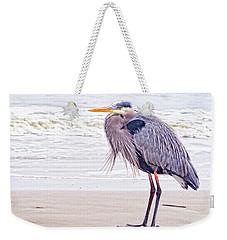 Blue Heron Watching Weekender Tote Bag