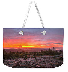 Blue Hill Overlook Alpenglow Weekender Tote Bag