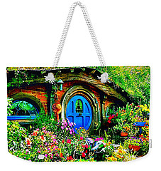 Blue Hobbit Door Weekender Tote Bag
