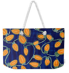 Blue Holiday Weekender Tote Bag by Joshua Maddison