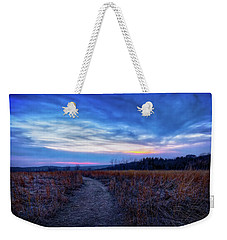 Weekender Tote Bag featuring the photograph Blue Hour After Sunset At Retzer Nature Center by Jennifer Rondinelli Reilly - Fine Art Photography