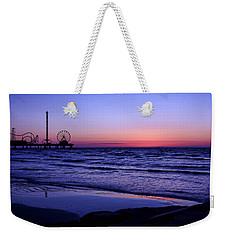 Blue Hour In Galveston Weekender Tote Bag