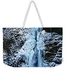 Blue Ice And Water Weekender Tote Bag