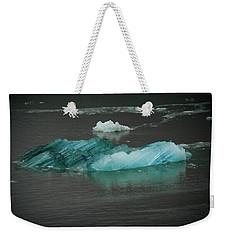 Blue Iceberg Weekender Tote Bag