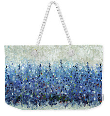 Blue Intensity Weekender Tote Bag by Lynne Taetzsch