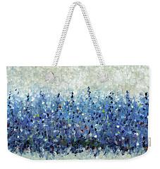 Blue Intensity Weekender Tote Bag