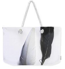 Blue Jay Feathers Weekender Tote Bag