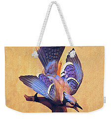 Blue Jay Weekender Tote Bag
