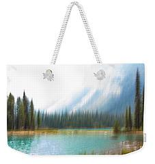 Blue Lake Weekender Tote Bag by Catherine Alfidi