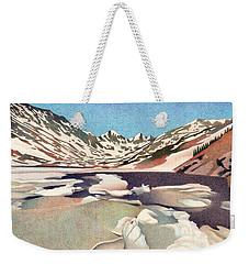Blue Lakes Colorado Weekender Tote Bag
