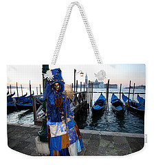 Blue Lips At Sunrise Weekender Tote Bag
