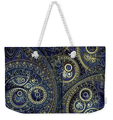 Blue Machine Weekender Tote Bag