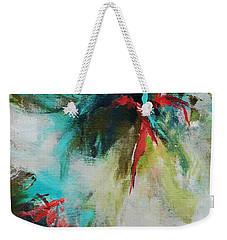 Blue Man 2 Weekender Tote Bag by Suzzanna Frank