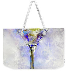 Blue Martini Weekender Tote Bag