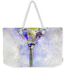 Blue Martini Weekender Tote Bag by Jon Neidert
