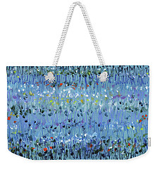 Blue Mirage Weekender Tote Bag by Lynne Taetzsch