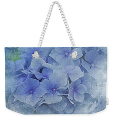 Blue Moments Weekender Tote Bag