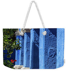 Blue Monastery Weekender Tote Bag by Patricia Hofmeester