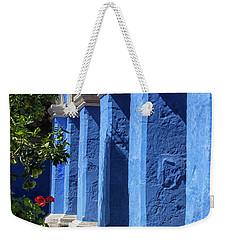 Blue Monastery Weekender Tote Bag