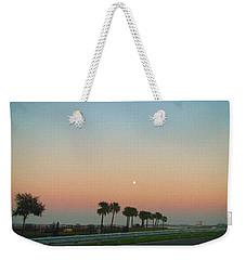 Blue Moon At Twilight Weekender Tote Bag by Deborah Lacoste