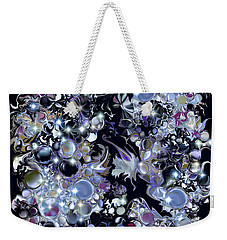 Blue Moon Weekender Tote Bag by Loxi Sibley