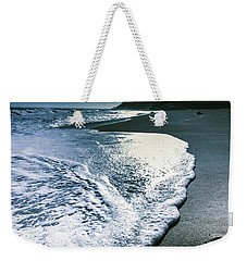 Weekender Tote Bag featuring the photograph Blue Moonlight Beach Landscape by Jorgo Photography - Wall Art Gallery