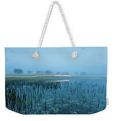 Blue Morning Flash Weekender Tote Bag by Jorge Maia