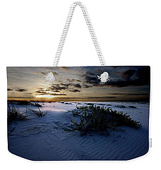 Blue Morning Weekender Tote Bag