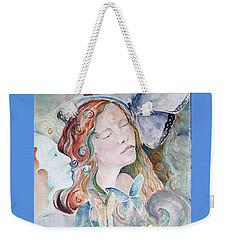 Blue Morpho Weekender Tote Bag