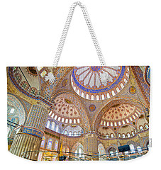Blue Mosque Interior Weekender Tote Bag