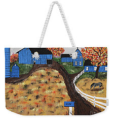 Blue Mountain Farm Weekender Tote Bag