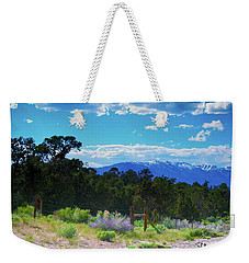 Blue Mountain West Weekender Tote Bag