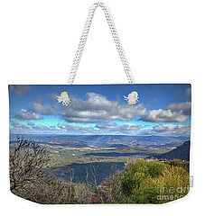 Weekender Tote Bag featuring the photograph Blue Mountains, New South Wales, Australia by Elaine Teague