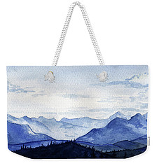 Blue Mountains Weekender Tote Bag