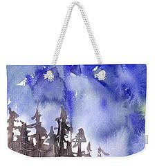 Blue Mountains Weekender Tote Bag by Yolanda Koh