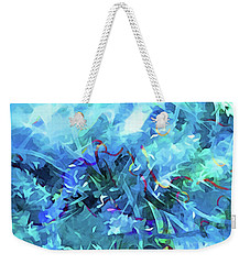 Blue Movement Weekender Tote Bag