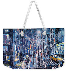 Blue Night II Weekender Tote Bag