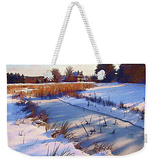 Blue Noon Weekender Tote Bag
