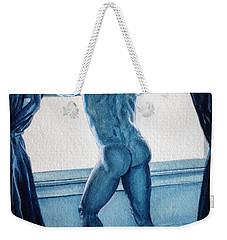 Blue Nude Weekender Tote Bag