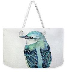 Blue Nuthatch Weekender Tote Bag