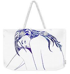 Blue Nymph Weekender Tote Bag